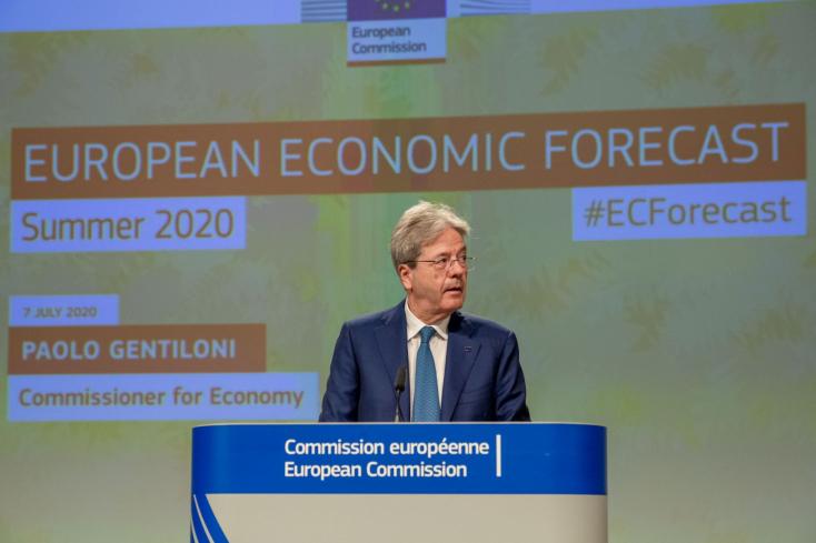 A vártnál is nagyobbat zuhan az Európai Unió gazdasága - itt van az Európai Bizottság nyári előrejelzése