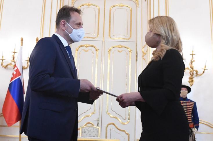 Čaputová elfogadta Mičovský lemondását és kinevezte Samuel Vlčant földművelésügyi miniszternek