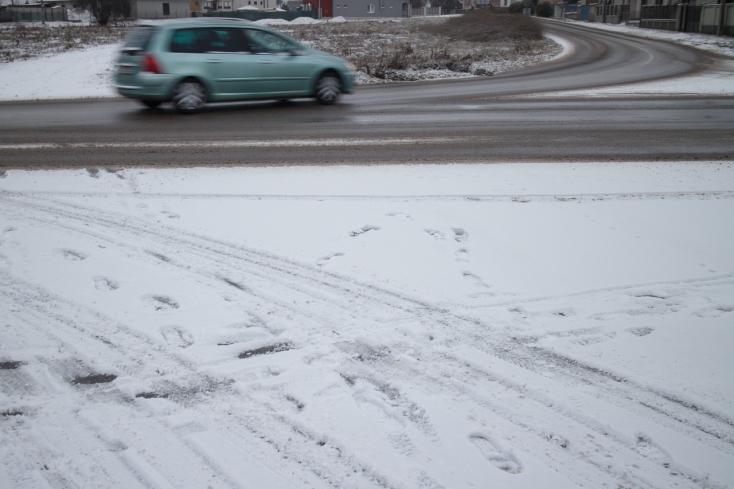 Akár 15 cm friss hó is hullhat az ország egyes részein