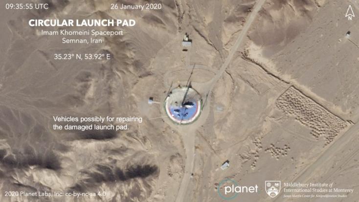 Nem sikerült pályára állítani az iráni műholdat
