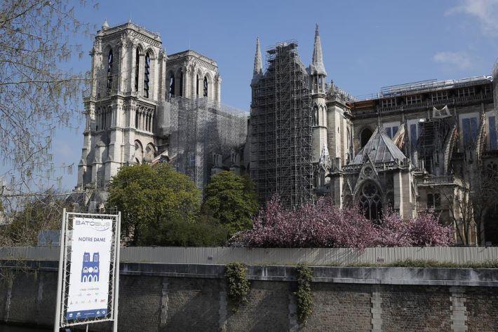 Befejeződött a Notre-Dame szerkezeti biztosítása