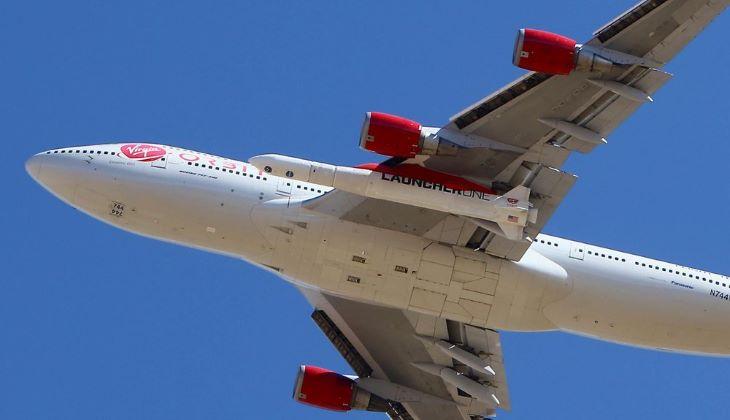 Repülőről indított rakétával állított pályára műholdakat a Virgin Orbit