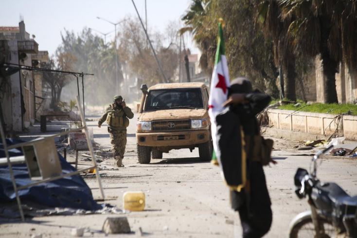 A török haderő 33 katonája halt meg egy szíriai légicsapásban