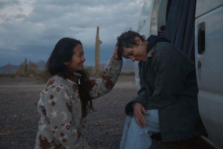 BAFTA-díjak - A nomádok földje kapta a fődíjakat