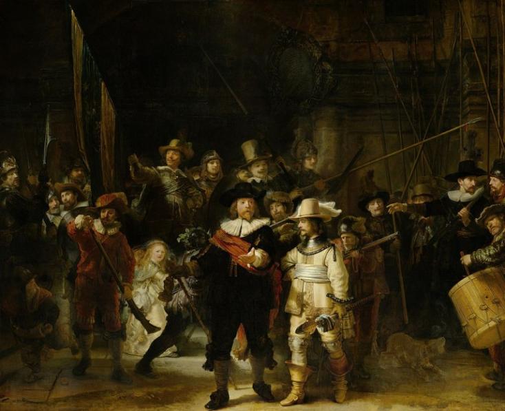 Megkezdték Rembrandt Éjjeli őrjáratának vizsgálatát és restaurálását