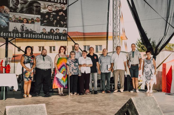 13 személy részesült polgármesteri kitüntetésben Nagymegyeren