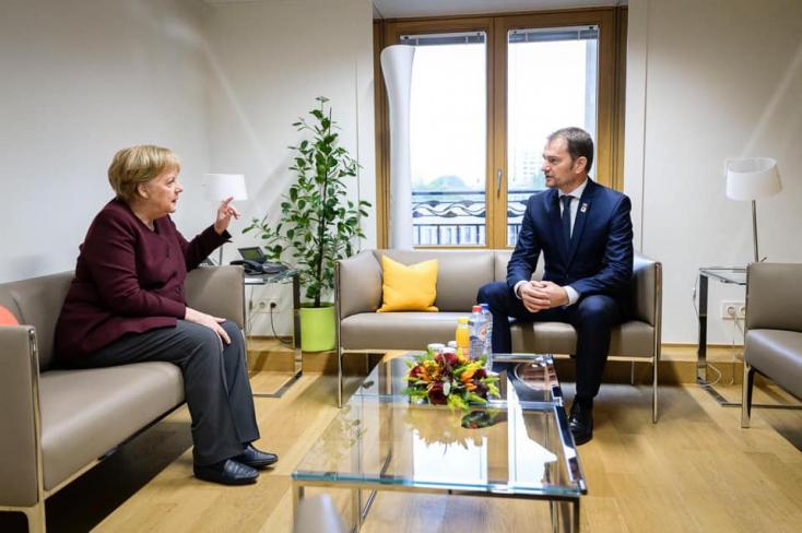 Matovič Merkellel tárgyalt az EU költségvetéséről és a járványról