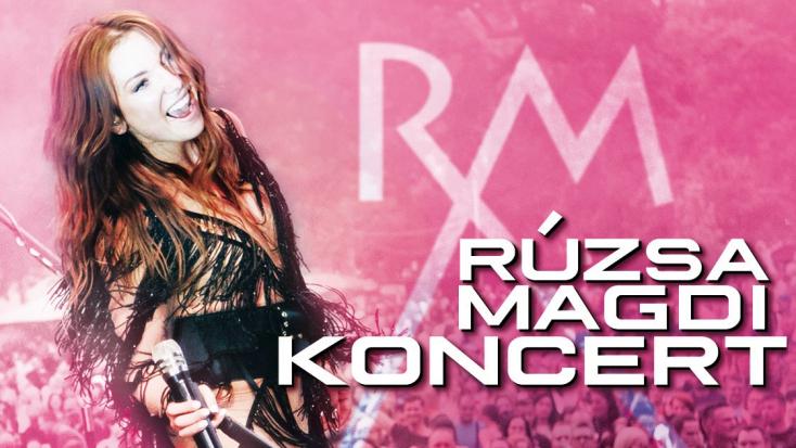 Szerdán Rúzsa Magdi koncertezik Dunaszerdahelyen!
