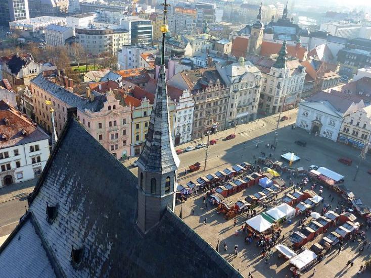 Nagy felbontású háromdimenziós városkép készül Plzeňről