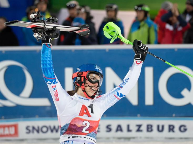 Alpesi vk – Vlhová ismét nyert szlalomban, Shiffrin harmadik