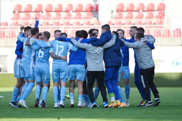 Fortuna Liga: Győzött, ezzel bajnok a Slovan Bratislava