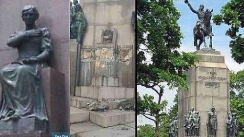 Négyszáz kilogrammos szobrot loptak el Rio de Janeiróban