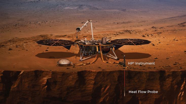Újra fúrni kezdett a Marson az Insight robotvakondja