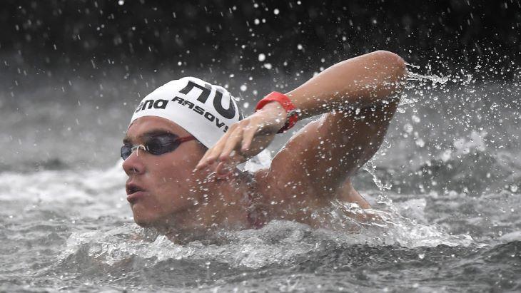 Vizes Eb - Nyíltvízi úszás: bronzérmes a magyar váltó