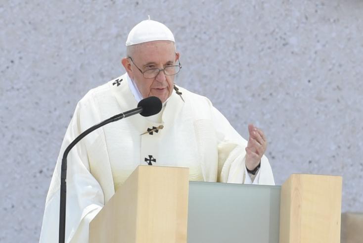 Ferenc pápa: Szűz Mária a szlovák nemzet számára a hit példaképe