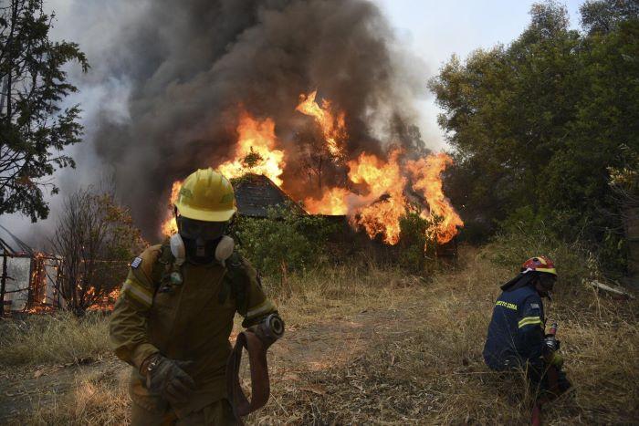 A pusztító erdőtüzek után Görögországban minisztériumot hoztak létre a klímaválság kezelésére