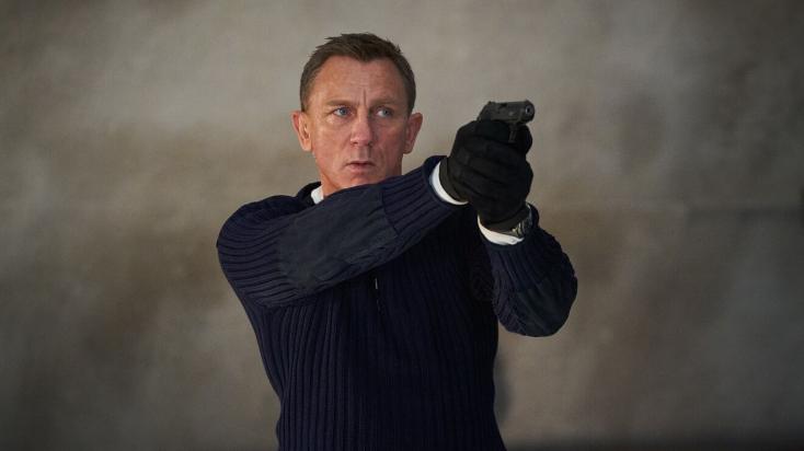 A James Bond-filmek legjobb nyitóhétvégi bevételét hozta a Nincs idő meghalni az Egyesült Királyságban