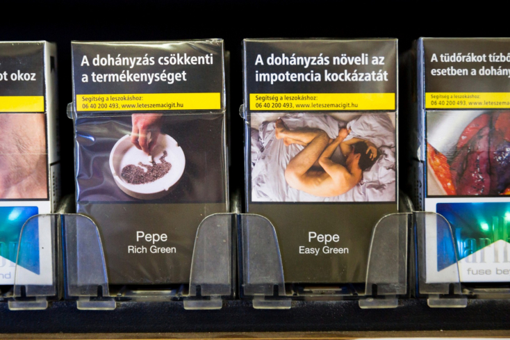 2022-től minden cigisdoboz ugyanúgy fog kinézni Magyarországon