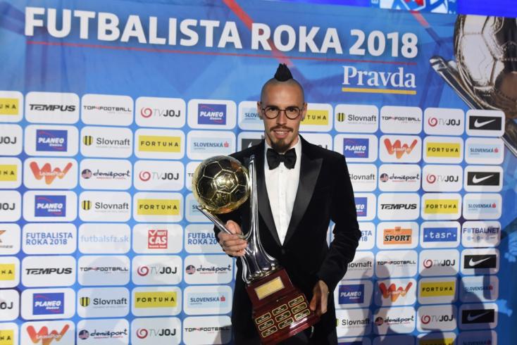 Marek Hamšík lett a 2018-as év labdarúgója Szlovákiában