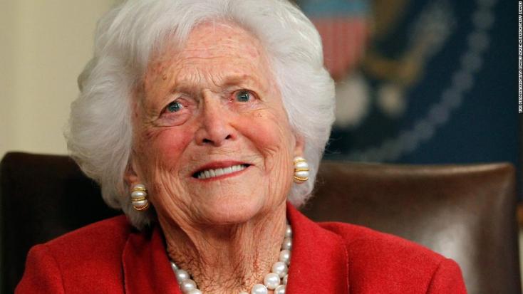 Végső búcsút vettek Barbara Bush volt amerikai first ladytől