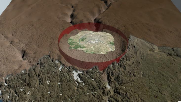 Hatalmas meteoritkrátert fedeztek fel Grönlandon