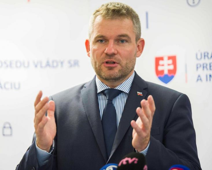 Pellegrini: Szlovákiába egyetlen menekült sem jöhet a beleegyezésünk nélkül