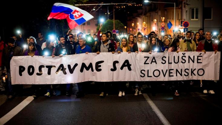 Nem tudták bizonyítani, hogy Soros pénzén akarták megdönteni az államot a Tisztességes Szlovákiáért aktivistái