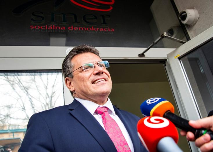 Šefčovič meghozta döntését: indul az elnökválasztáson!