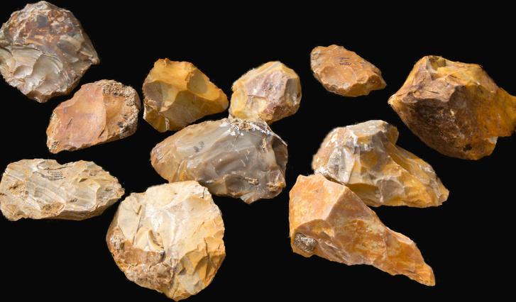 Félmillió éves kőeszközöket tártak fel