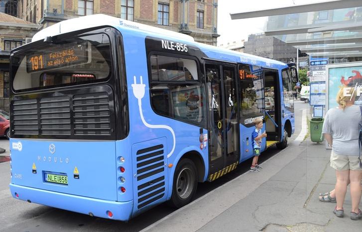 Észak- és Dél-Komárom között elektromos autóbuszok fognak közlekedni