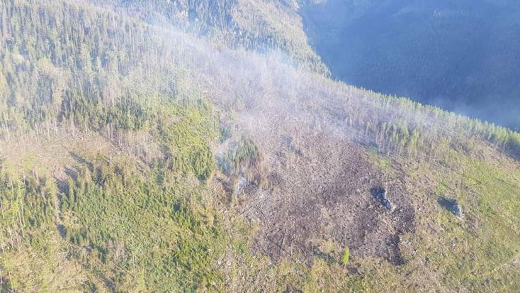 Ilyen pusztítást végzett az erdőtűz a Magas-Tátrában (FOTÓK)