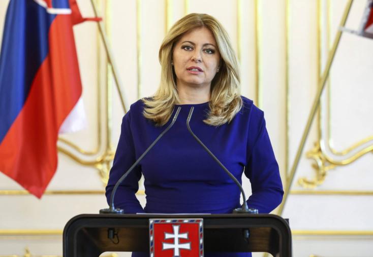 Čaputová államfő megköszönte Ausztriának a gyors segítséget
