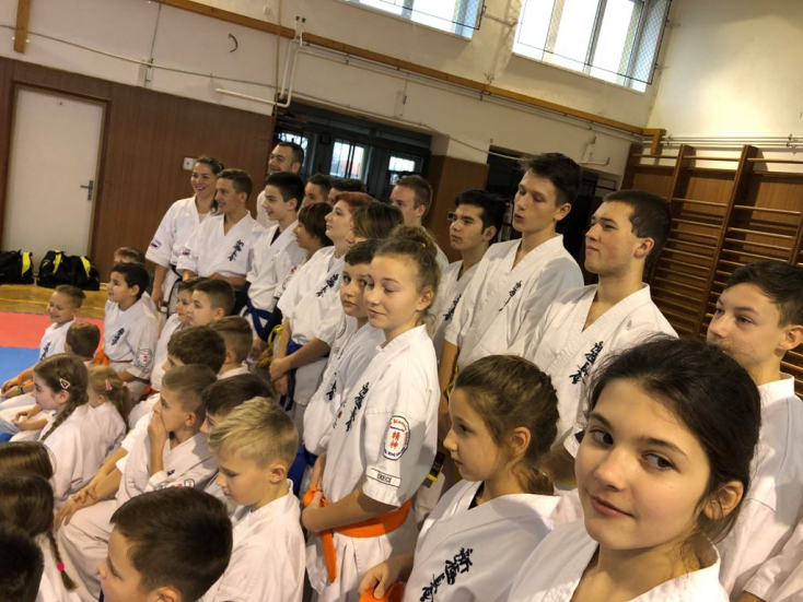Kétszáz érmet gyűjtöttek a Seishin Karate Klub karatékái