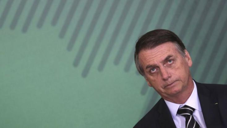 Tüdőgyulladást kapott a kórházban fekvő brazil elnök