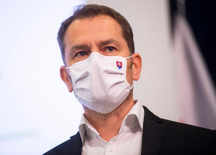 Matovič először utazott külföldre, mióta beütött a ménkű