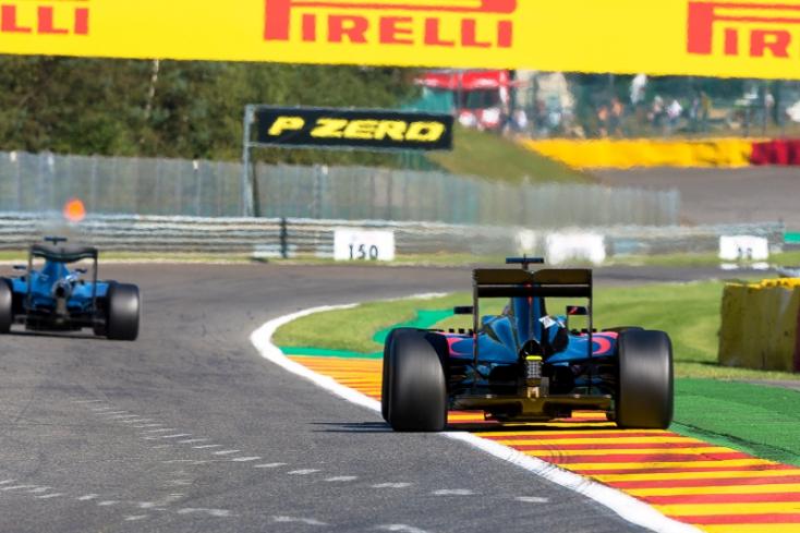 Belga Nagydíj - Verstappen volt a leggyorsabb a második szabadedzésen