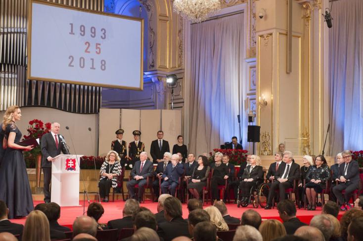 Szigeti Lászlót is kitüntette Andrej Kiska