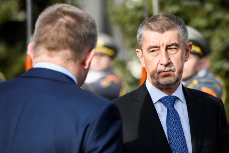 Csehül áll a szomszédok koalíciója, mert Babiš osztja Zeman véleményét