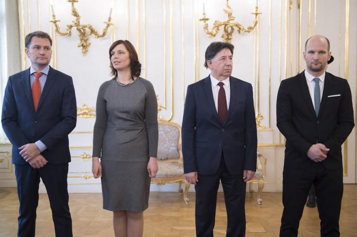 Az SaS és az OĽaNO szerint Kaliňák távozása nem elég