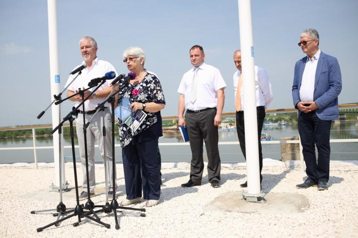 Érdekli az új komáromi Duna-híd? Látogatóközpont létesül a hídfőnél!