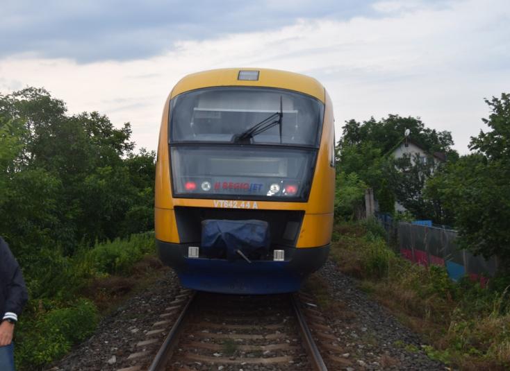 Zenét hallgatott a fiatal, amikor elgázolta a RegioJet vonata
