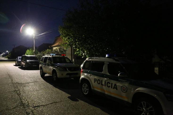 Kuciak-gyilkosság: Véget ért a rendőri bevetés Gútán
