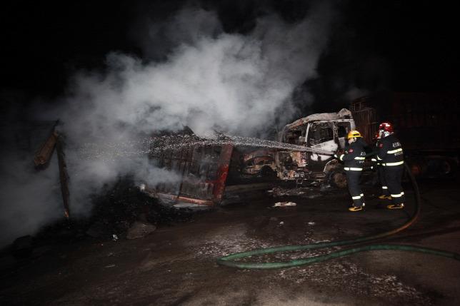 Hatalmas robbanás történt egy indiai vegyi gyárban, sok a halott