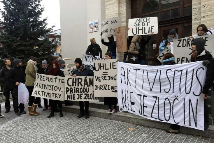 Első fokon bebörtönözték a szlovákiai Greenpeace tiltakozó aktivistáit!