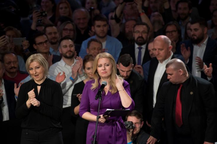 Čaputová nagy alázattal fogadja, hogy megválasztották Szlovákia elnökének