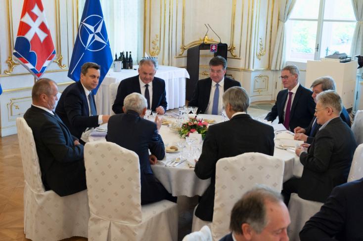 Kiska: A NATO- és EU-tagság az egyetlen út Szlovákia számára