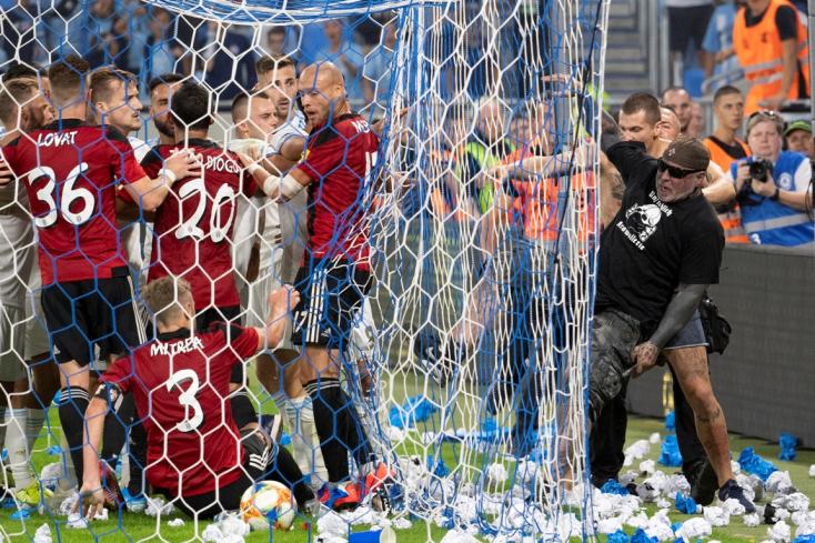 """Slovan-Spartak – """"Nézzék meg az argentin ligát, ott kövek repülnek... Azok szurkolók"""" - reagált Ljubicic a pozsonyi incidensre"""