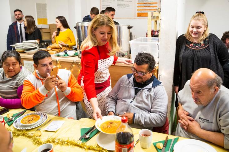 Čaputová: A hajléktalanság olyanokat is utolérhet, akik nem is gondoltak volna rá