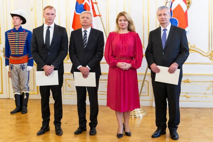 Čaputová új nagyköveteket nevezett ki