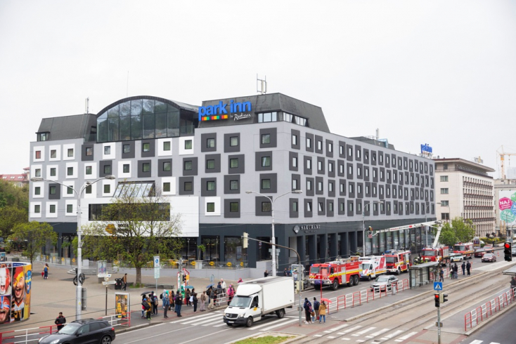 Gyújtogatás okozhatta a tüzet a pozsonyi szállodában
